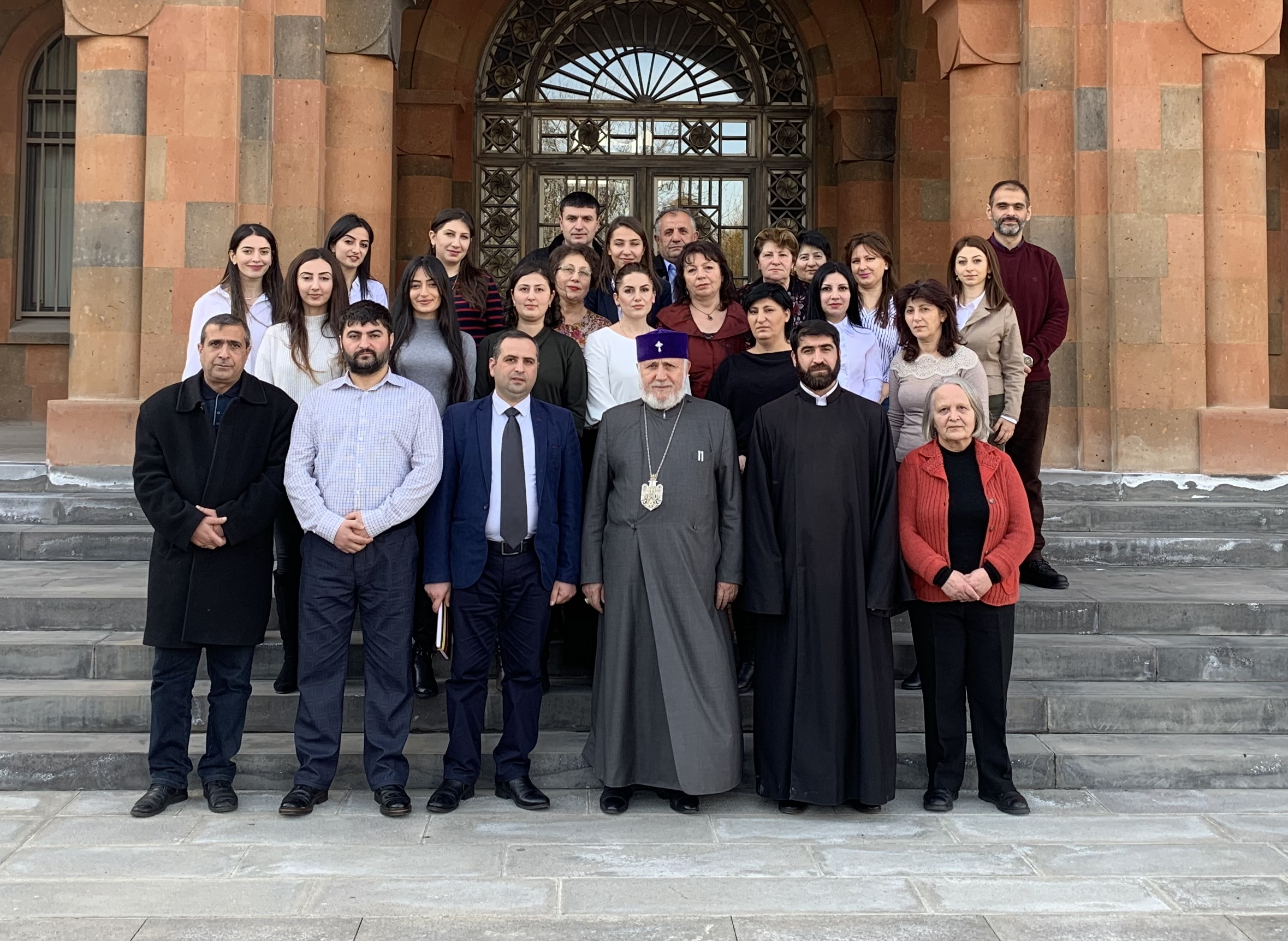 Meeting with  the  Supreme Patriarch and Catholicos of  All Armenians